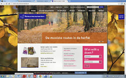 Website Natuurmonumenten